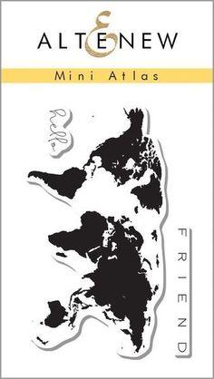 Altenew Mini Atlas Stamp Set
