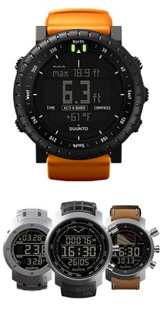 Suunto watch, watches, timepiece | Raddest Men's Fashion Looks On The Internet: http://www.raddestlooks.org