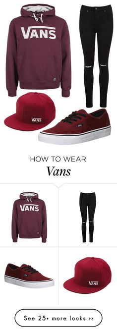 """Vans"" by pinkunicorn007 on Polyvore Clothes school clothes cute"