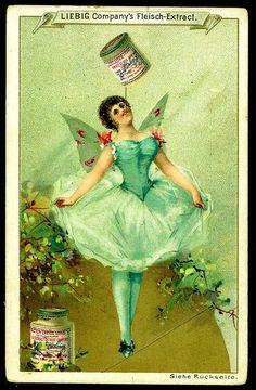 Liebig S257 - Ballerina's #4 by cigcardpix, via Flickr