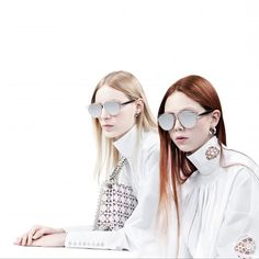 """Das neue Must-Have-Accessoire der Saison: die """" Dior Technologic"""". Die Sonnenbrille ist so cool, dass wir sie auch nachts tragen: http://www.harpersbazaar.de/short/bazaar-loves/24-hour-sunglasses-12235.html"""