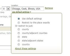 Ask Ancestry Anne: Search Tip #1 : Controlling location in your searches