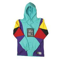 "By Kiy Online - OG x TB ""Aqua"" Hooded Sweatshirt Blue Hoodie, Zip Hoodie, Hooded Sweatshirts, Cotton Hoodies, Dom, Blue Sweaters, Blue Tops, Shirt Style, Aqua"