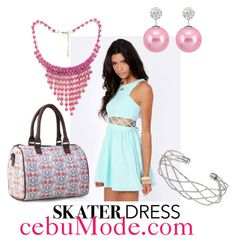 """SKater Dress 23"" by cebumode on Polyvore"