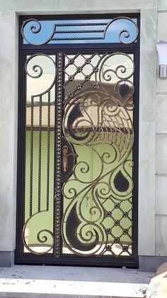Gate Design, Single Doors, Hana, Decoration, Gates, Afro, Frame, Home Decor, Wrought Iron