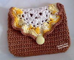Crochet small bag pattern
