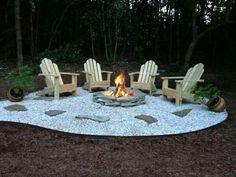 Great fire pit idea