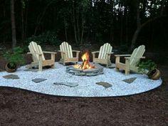 Great fire pit idea