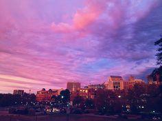 Sunset in Greenville SC
