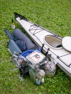 Packing a Kayak for Camping... someday!