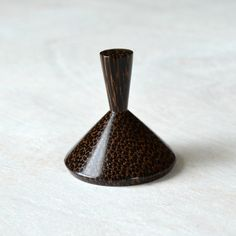 Ring holder Palm wood woodturning wedding gift jewelry by Turnato, $18.00