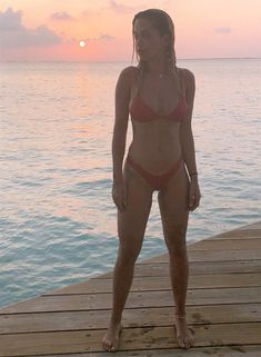 Rita Ora sizzles in barely there fiery red bikini during beach holiday Instagram Snap, Latest Instagram, One Direction Liam Payne, Plunge Bikini, Poses For Photos, Fiery Red, Rita Ora, Red Bikini, Old Actress