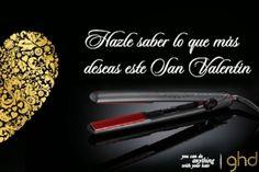 Hazle saber lo que más deseas este San Valentín . Llévate unas FANTASTICAS planchas GHD ROSE GOLD a un precio que te enamorará. Además, te...