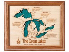 You could specify the lake in the Adirondacks that your family goes to. what a cool gift, or gift to yourself!   ////   Personalized Wall Art and Cribbage Boards from Lake Art