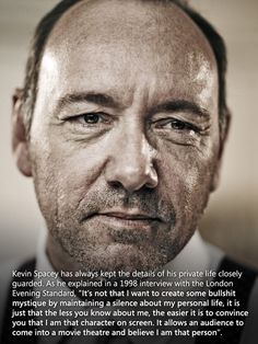 I LOVE Kevin Spacey!
