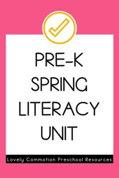 Literacy activities for preschoolers based around four popular read-alouds. This Literacy unit is based on a Spring theme. Third Grade Reading, Early Reading, Comprehension Strategies, Reading Comprehension, Preschool Lesson Plans, Preschool Alphabet, Authors Purpose, Common Core Reading, Vocabulary Cards