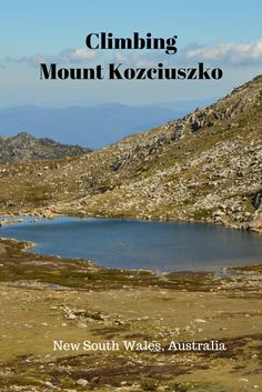 The different paths to Climb Mount Kozciuszko, Australia's highest mountain in New South Wales