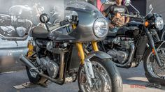 BikeWale coverage on 2016 Triumph Thruxton R Photo Gallery. Get the latest reviews and photos for 2016 Triumph Thruxton R Photo Gallery on BikeWale coverage.