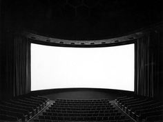Suppose you shoot a whole movie in a single frame? You get a shining screen. (Hiroshi Sugimoto – Theaters) http://www.sugimotohiroshi.com/index.html