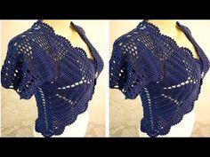 YouTube Crochet Bikini, Cowl, Bikinis, Swimwear, Youtube, How To Make, Fashion, Crochet Coat, Vest Coat