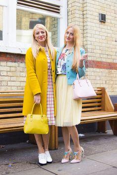 She and Hem wears Boden Ingrid Coat, Alice Heels, Emilie Crop Top and Westminster Bag. March 2015.
