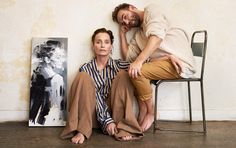 Kristin Scott Thomas plays artist's muse to the award-winning portraitist Christian Hook in the pick of this season's most beautifully understated and graceful designs