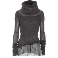 cashmere + merino sweater