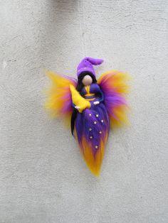Sweet Dream bringer fairy needle felted by LivelySheep on Etsy