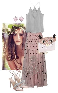"""""""Lana"""" by natalie53-1 ❤ liked on Polyvore featuring Betsey Johnson, Temperley London and Valentino"""