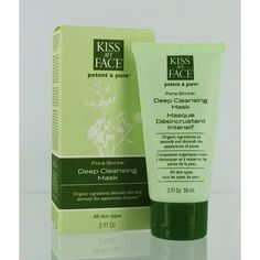 Pore Shrink (Deep Pore Cleansing Mask) by Kiss My Face. Real Simple recommends putting this oil-absorbing clay mask on forehead, nose, and chin 1-2 times a week.