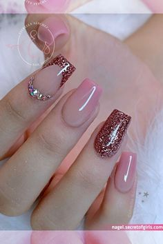 Shellac Nail Art, Pink Nail Art, Pink Nails, Gel Nails, Nail Polish, Maybelline, Pretty Nail Colors, Pretty Nails, Romantic Nails