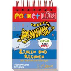 Pocket-LÜK Zählen und Rechnen, 5 - 7 Jahre - Das abwechslungsreiche Lernspiel im praktischen Taschenformat