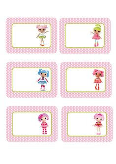 Lalaloopsy Labels