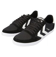 Black White Kh hummel Slimmer Stadil Low adults – See all hummel footwear adults for collections on hummel.net