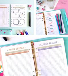 Get every area of your life organised with this printable life planner. It consists of more than 60 pages to help you keep track of your life. Click here to read more.