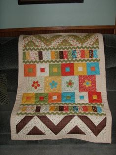 Girl Quilt, like the pattern