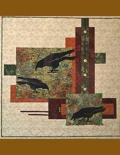 Cobblestone Crows Kit. www.AlderwoodQuilts.com