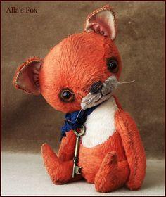 """Fox TINY 7.75"""" by Alla Bears"""