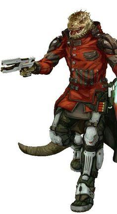 Pistol Operative - Starfinder RPG
