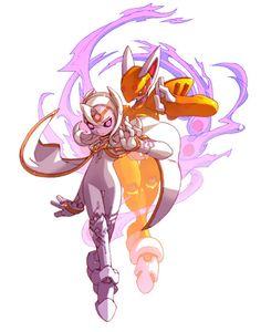Cubit Foxtar - Characters & Art - Mega Man Zero 3