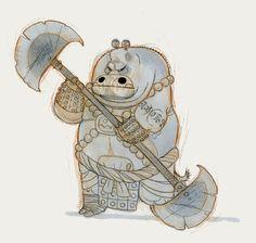 Character Design | Artist Interviews: The Art of Kung Fu Panda 3