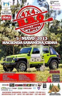 4x4 BBQ Challenge 2013 @ Hacienda Sabanera, Cidra