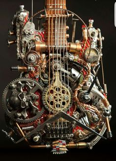 Steampunk Tendencies | Steampunk Guitars by Andy Corporon Check out...