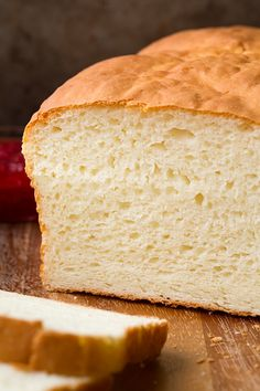 Low Fodmap? Try coconut milk or rice milk.   Gluten-Free White Bread - Cooking Classy