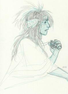 Kind of Toni but less shaman ish