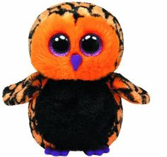 Ty Beanie Boos Haunt The Owl. Size: Small/ Standard Beanie Boo Size (About This style is rare & discontinued. Halloween Beanie Boos, Halloween Owl, Ty Animals, Ty Stuffed Animals, Stuffed Toys, Ty Beanie Boos Collection, Ty Peluche, Beanie Boo Birthdays, Rare Beanie Babies