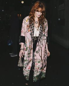 Florence attends Daisy Lowe's Birthday bash