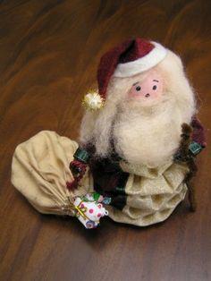 antique santa yoyo
