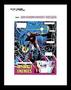 Barry Windsor-Smith Iron Man #232 Rare Production Art Pg 1   eBay
