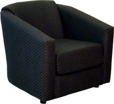 Attached Back Tub Chair